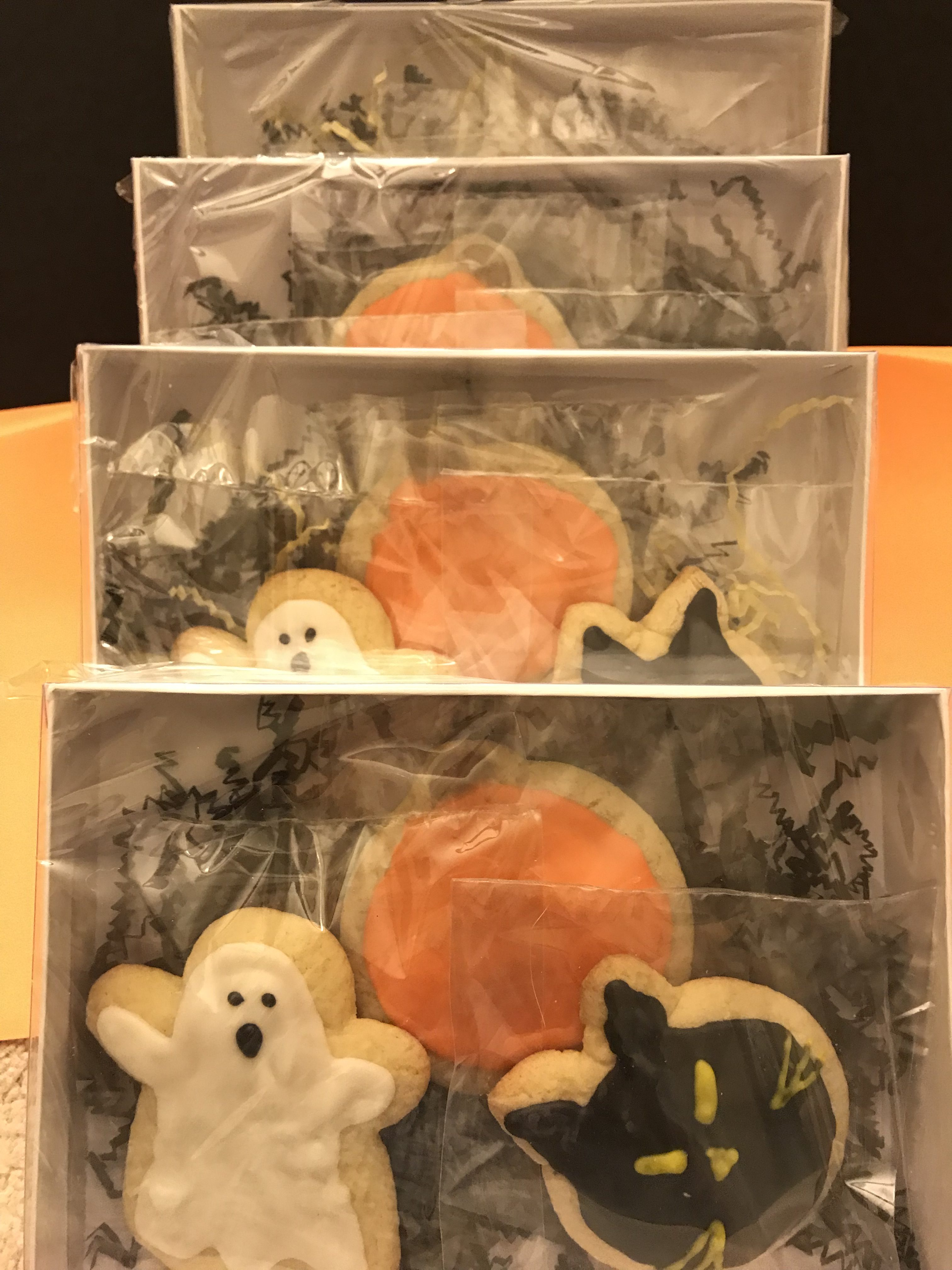 4 Social Distancing Halloween Cookies Gift Sets